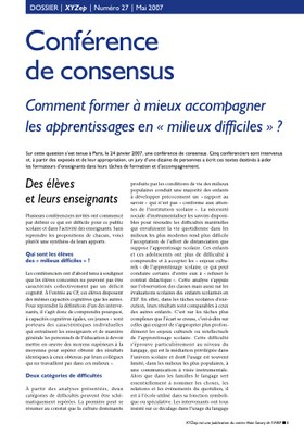 conférence consensus